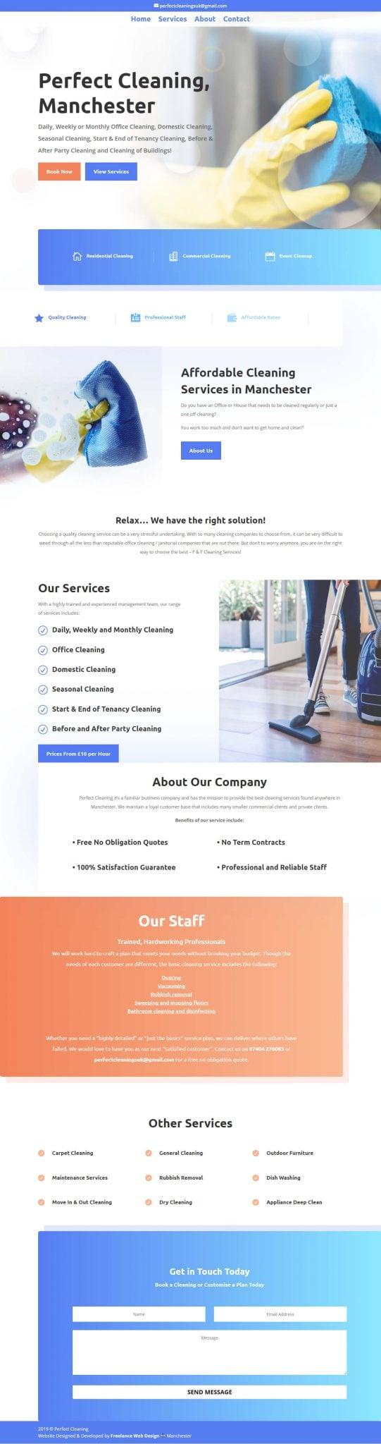 manchester web design company