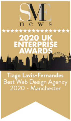 Award Best Web Design Agency 2020 Manchester