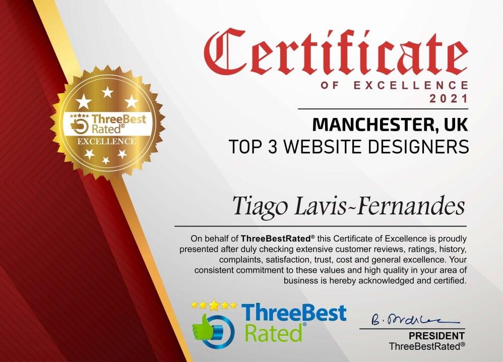 Freelancewebdesign Manchester Tiago